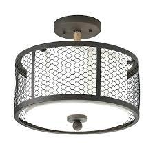 closet light fixtures lighting in w bronze fabric semi flush mount led wall fixture