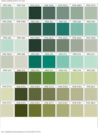 Pantone Color Chart Blue Green Pms Color Chart Pantone