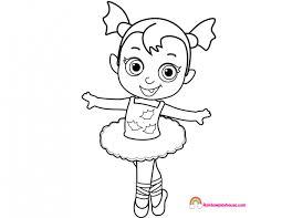 Vampirina Ballerina Coloring Pages