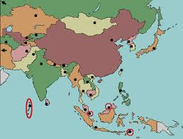 test your geography knowledge asia capitals quiz lizard point Map Asia Test map of asia map of asia test
