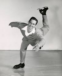 Ice skater Hugh Hendrickson in the Ice Follies. - Sayre (J. Willis ...