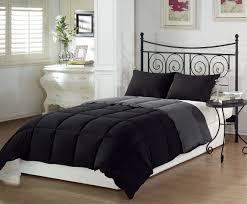 chezmoi collection goose down alternative reversible comforter set