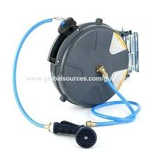 auto hose reel bunnings china high quality retractable water garden drum