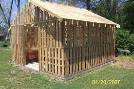 Pallet Furniture Plans | ... other structures built from pallets. See them  here