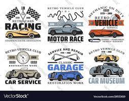 retro cars and engine spare parts auto