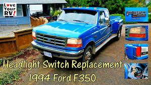 replacing our ford trucks intermittent headlight switch youtube ford headlight switch diagram at 74 Ford Truck Headlight Switch Wiring