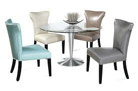 6 seat dining room table dining room chair dining table and leather chairs suede dining chairs