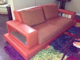 my big orange sofa