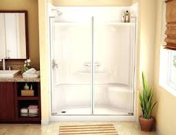 shower kit large size of walk in showers image concept x single threshold systems 32x60 schluter