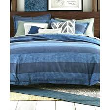 mission paisley comforter set full queen cabana stripe cotton blue