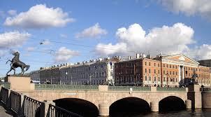 Мост четырех коней Как появился символ Петербурга Аничков мост  Мост сегодня находится под охраной государства как памятник Фото commons org potekhin