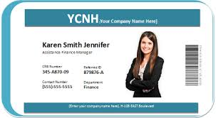 employee badges online photo id badge word templates word excel templates