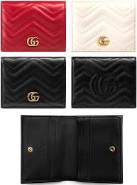 gucci card holder. business card holder, case two fold gucci gucci gg marmont logo double g holder p