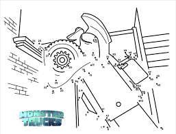 Coloring Pages Free Monster Trucks Coloring Pages Activityheets