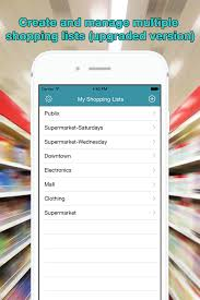 Buy Grocery Shopping List (Iwatch Included) Food&drink And Shopping ...