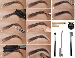 brow shaping tutorials how to fill and shape your eyebrows perfectly awesome makeup tips