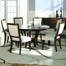 glass table with 6 chairs dining table and 6 chairs set exquisite cool round dining room