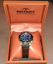 men s rotary aquaspeed chronograph watch ags00070 c 05 watch the rotary watch which i purchased was exactly the model i was looking for and very happy the product it is an elegant brown leather strapped blue