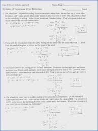 16 fresh systems of linear equations word problems worksheet