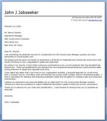 this free construction manager cover letter sample can be used in your job search to secure more interviews construction management cover letter