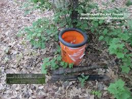 homemade 5 gallon bucket throne you