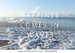 Blurry Waves On Beach Inspirational Quotes Stock Photo Edit Now Inspiration Waves Quotes
