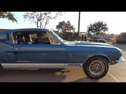 Classic 1968 Shelby GT500KR Mustang - YouTube