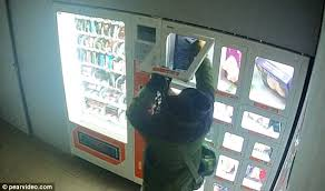 Toy Vending Machine Canada Magnificent Chinese Man Caught Stealing Sex Doll From Vending Machine Daily