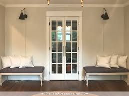 dining room benches with remote controlled wall sconces 3