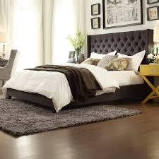 $501 31 Kingstown Home Declare Tufted Wingback Bed dealepic