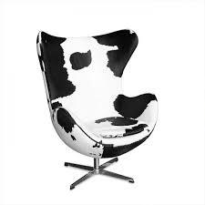 egg office chair. plain egg arne jacobson egg chair replica  cowhide finish on office