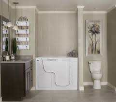 bathroom remodeling home depot. Attactive White Bath Tub With Terrific Toilet Under Dazzling Picture On Granite Wall From Astounding Bathroom Remodeling Home Depot