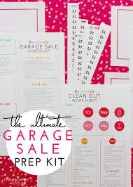 The Ultimate Garage Sale Prep Kit A Comprehensive Printable