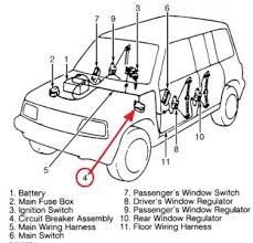 1997 suzuki sidekick power windows electrical problem 1997 suzuki i have posted a diagram of where the circuit breaker is for the power windows