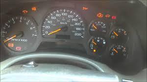 Chevy Trailblazer dashboard lights flashing - YouTube