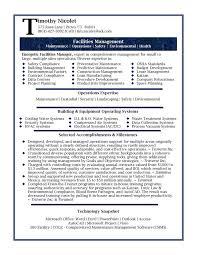 Gallery of: Senior Management Resume Samples