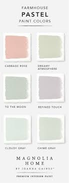 Bring a subtle pop of color into your home with this pastel color palette  from the