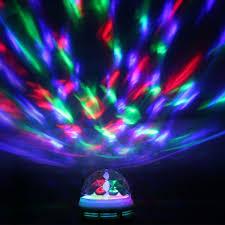 Autistic Light Toys Autism Sensory Lights Led Rotating Light Bulb B22 Bayonet