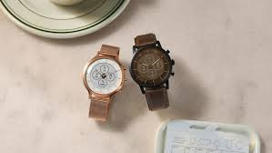 Fossil Design Curious Fossil Announces A New Hybrid Smartwatch But Without Wear