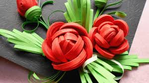 Paper Quilling Rose Flower Basket How To Make Beautiful Quilled Rose Diy Tutorial Guidecentral