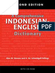 Waspada demi kebenaran dan keadilan. A Comprehensive Indonesian English Dictionary Acronym Syllable