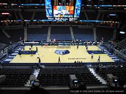 Fedex Forum Seating Chart Foo Fighters Fedex Forum Section P11 Memphis Grizzlies Rateyourseats Com