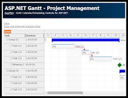 Tutorial Asp Net Gantt Chart Control Daypilot News