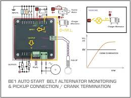 generator auto start circuit diagram genset controller generator suto start circuit diagram belt alternator monitoring