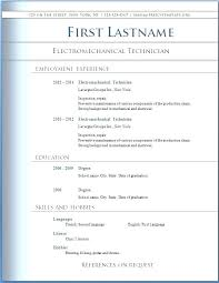 Free Professional Resume Templates Inspirational Ms Word Useful ...