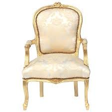 Wooden Chairs For Living Room Beige 2 Tone Flower Pattern Baroque Living Room Golden Wooden