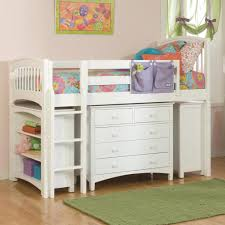 Low Bedroom Furniture Retro Bolton Furniture Windsor Low Loft Bed With Storagebflls Raw
