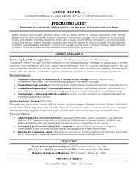 Purchase Resume Samples Purchasing Resume Sample Procurement Resume Examples Nice Specialist