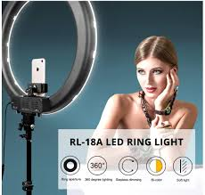 Big Ring Light With Stand Trendmax 20 Inches Big Led Ring Light For Shooting And Makeup Stand Light
