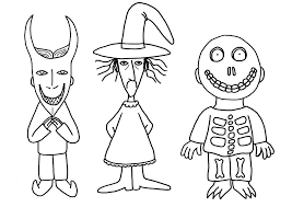 Jack Skellington Christmas Coloring Pages Coloring Pages Nightmare